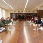 Министр обороны и глава МИД Армении провели совместное совещание