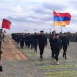 Армянские военнослужащие приняли участие в открытии стратегического командно-штабного учения «Кавказ-2020»