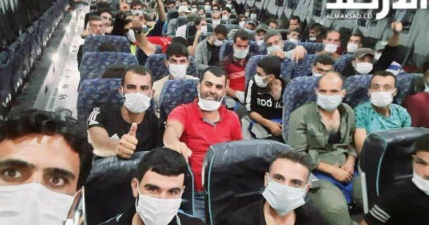 Турция перебрасывает сирийских террористов в Азербайджан – Ливанский ресурс опубликовал фото