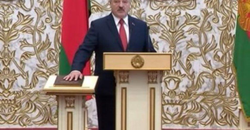 Европейский союз отказывается признать Александра Лукашенко президентом Беларуси