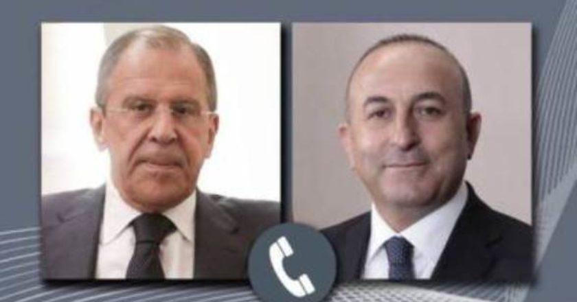 Лавров и Чавушоглу обсудили ситуацию в зоне нагорно-карабахского конфликта