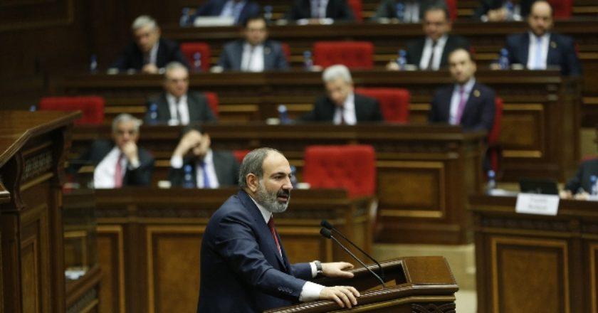 Никол Пашинян: Армения намерена серьезно обсудить признание независимости Нагорного Карабаха