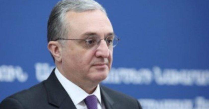Глава МИД Армении провел телефонные беседы с Жозепом Боррелем, главами МИД Эстонии и Кипра