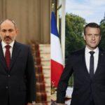 Никол Пашинян провел телефонную беседу с президентом Франции Эммануэлем Макроном