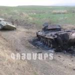 ВС Азербайджана, состоящая из различных турецких и террористических группировок, повсюду сталкивается с жесткими и разрушительными ударами Армии обороны