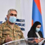 Минобороны Армении: войска противника отброшены на исходные позиции