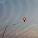 Обнародовано видео поражения армянскими военнослужащими вертолета противника