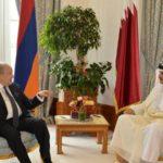 Президент Армении провел телефонный разговор с эмиром Катара