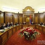 В Правительстве Армении состоялось внеочередное заседание Совета безопасности