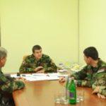 Президент Арцаха принял директора СНБ Армении