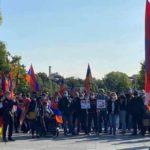 Армяне провели митинг в Берлине: Канцлеру Германии Ангеле Меркель было передано письмо