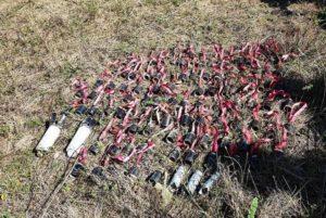 В Степанакерте обнаружено около 673 частиц бомб турецкого и израильского происхождения