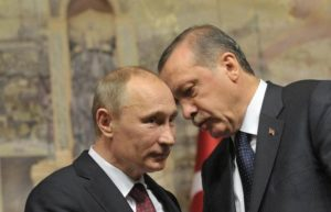 Эрдоган позвонил Путину, впервые с начала эскалации в Карабахе