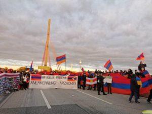 Акция армян Гамбурга привлекла внимание немецких СМИ к агрессии Азербайджана