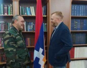 Председатель парламента Арцаха принял депутата Госдумы РФ Виталия Милонова