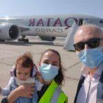 Самолет с гуманитарным грузом из США авиакомпании «Qatar Airways» прилетел в Ереван