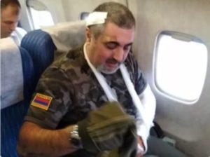 Раненый в Шуши журналист Левон Арзанов: Я чуть не заплакал от того, что маленький ребёнок помогает раненым