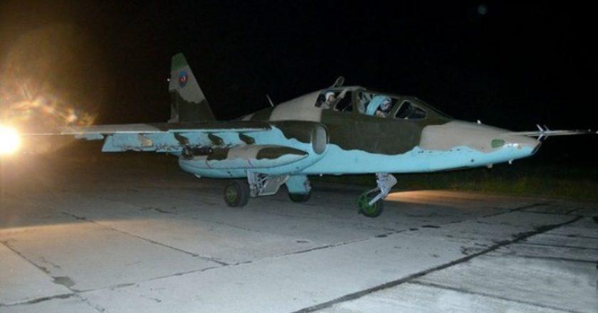 Подразделения ПВО Армии обороны Арцаха утром сбили самолет противника