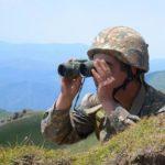 Обстановка на фронте находится под контролем частей Армии обороны Арцаха