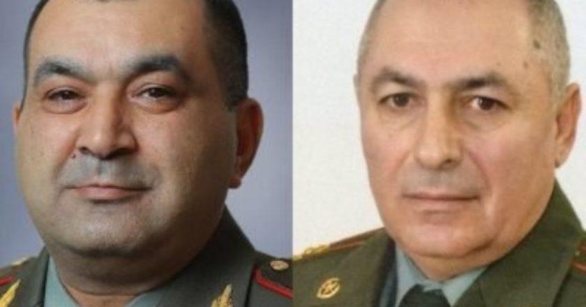 Президент Армении подписал указы о присвоении Тирану Хачатряну и Андранику Пилояну званий Национального героя
