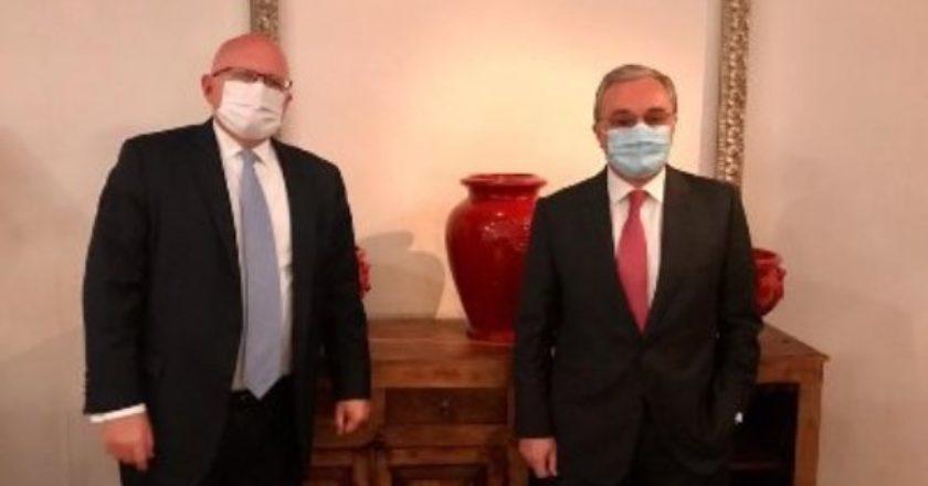 Глава МИД Армении встретился с представителем Госдепа