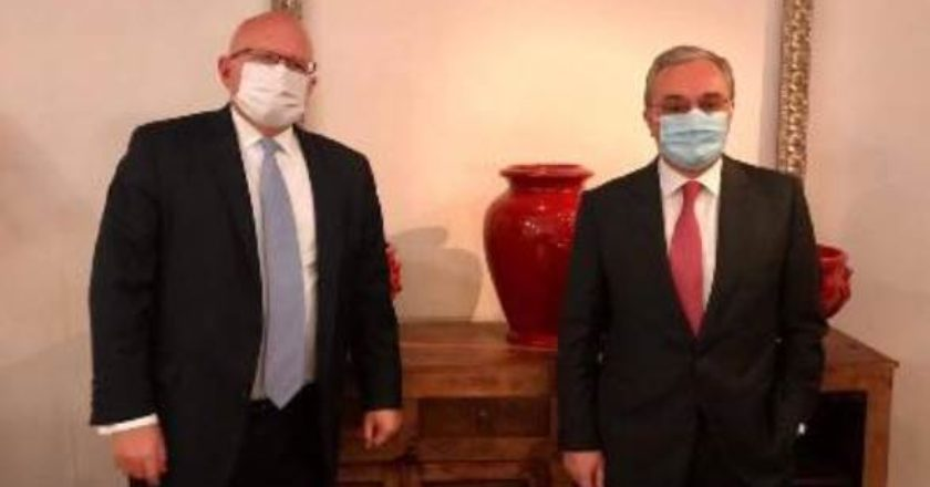 Глава МИД Армении на встрече с заместителем госсекретаря США указал на роль Турции в конфликте