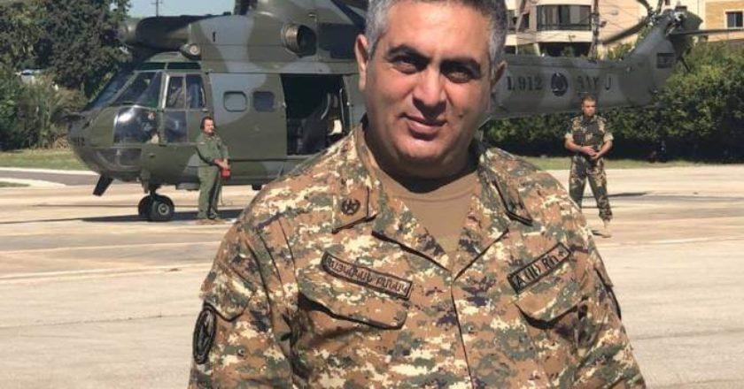 Арцрун Ованисян обратился к «славным» воинам Алиева
