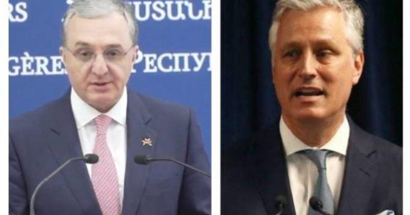 Мнацаканян и О'Брайен подчеркнули безальтернативность формата Минской группы ОБСЕ