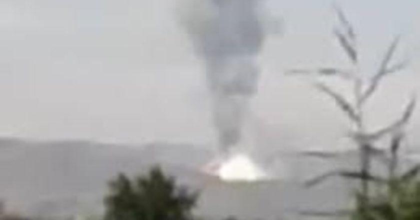 «Вот такой салют!»: армянские ВС сбивают тяжелую огнеметную систему «ТОС-1»