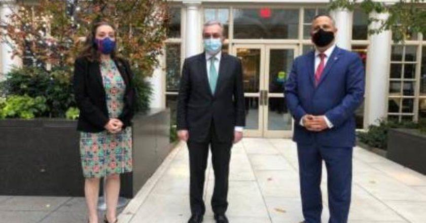 Глава МИД Армении встретился с представителями армянских организаций США