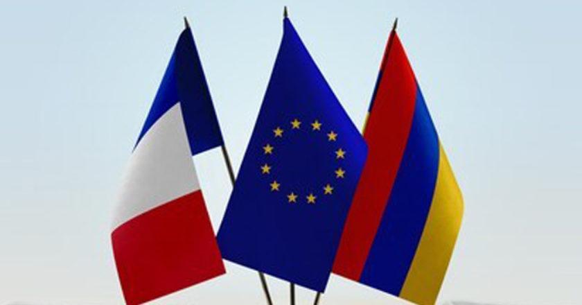 Сегодня в Армению прибыла делегация французских депутатов из 15 человек