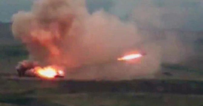 Азербайджан атаковал воинскую часть в Арцахе и ударил из РСЗО «Смерч» по мирному селу