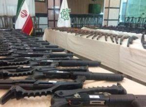 Силы КСИР перехватили партию контрабандного оружия в северной провинции Мазандаран