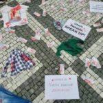 Армянская молодежь Чехии устроила третью акцию протеста перед компанией «Czechoslovak Group»