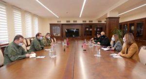 Министр обороны Армении принял посла США