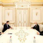 Премьер-министр Армении принял замминистра иностранных дел Ирана