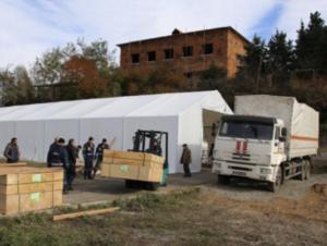 МЧС России в Карабахе завершило обустройство лагеря для долговременного базирования группировки