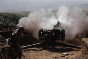 ВС Азербайджана в течение дня пытались осуществить атаки на северном и северо- восточном направлениях
