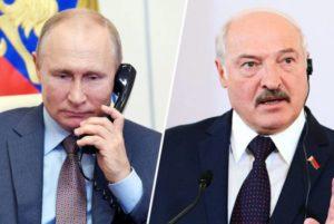 Путин обсудил с Лукашенко ситуацию в Нагорном Карабахе