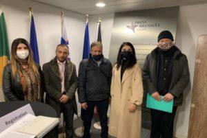 Армяне Бельгии представили чиновнику ЕС факты использования Азербайджаном запрещенного оружия