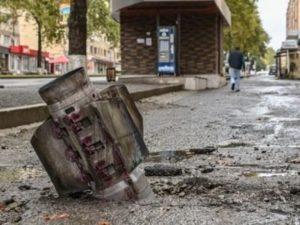 Азербайджано-турецкие фашисты обстреливают Степанакерт из установок «Смерч» и «Град»