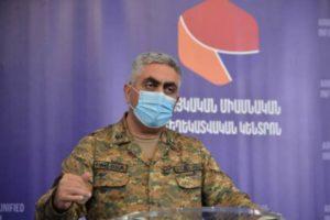 Арцрун Ованнисян: Бои в Шуши продолжаются, ждите и верьте нашим войскам