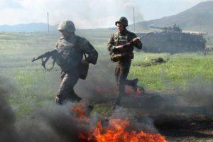 Армия обороны Арцаха перешла в наступление в Кашатаге