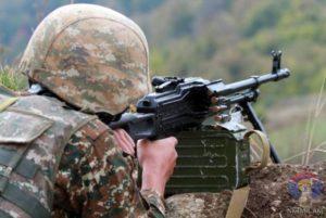 АО в направлении Бердзора атаковала по трем флангам. У врага большие потери