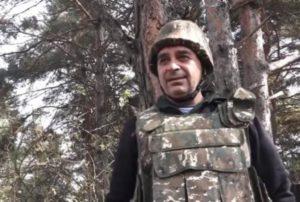 Арцвик Саркисян: Бои продолжаются в окрестностях Шуши, ведутся работы по очищению города от азеро-турецких диверсантов