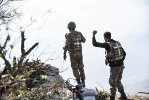 Армянские вооруженные силы перешли в наступление в направлении Мартуни