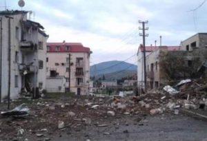 Только что подвергся обстрелу Степанакерт, среди мирного населения есть пострадавший