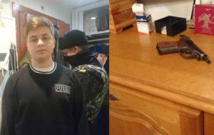 Российский школьник напал на свою семью