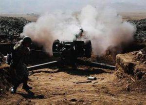 На участке Шуши-Каринтак шли интенсивные бои: азербайджанские группировки отступили с большими потерями