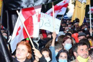 В Аджарии мобилизовали спецназ из-за протестов оппозиции в Батуми